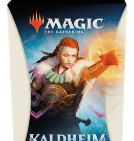 Wizards of the Coast Magic the Gathering: Kaldheim White Theme Booster