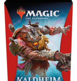 Wizards of the Coast Magic the Gathering: Kaldheim Red Theme Booster