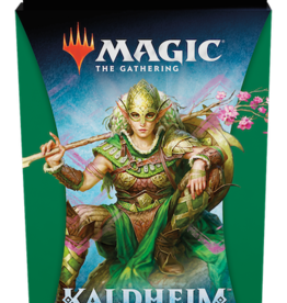 Wizards of the Coast Magic the Gathering: Kaldheim Green Theme Booster