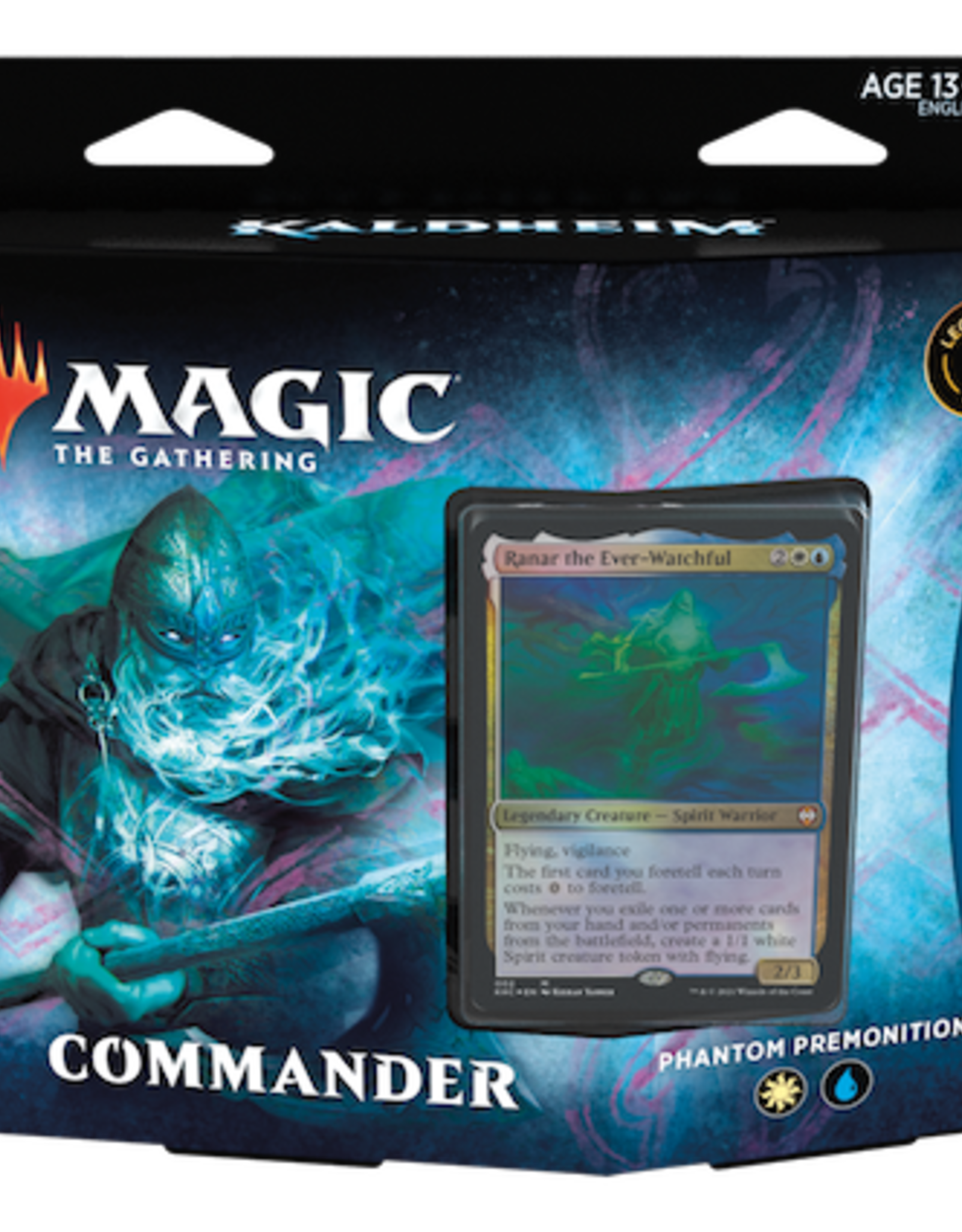 Wizards of the Coast Magic the Gathering: Kaldheim Commander Phantom Premonition (White/Blue)
