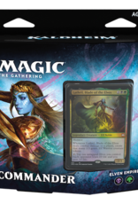 Wizards of the Coast Magic the Gathering: Kaldheim Commander Elven Empire (Black/Green)