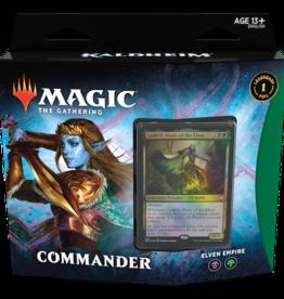 Wizards of the Coast Magic the Gathering: Kaldheim Commander Elven Empire (Black/Green)