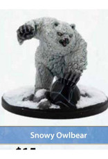 Gale Force 9 Dungeons And Dragons: Icewind Dale Rime Of The Frostmaiden: Snowy Owlbear