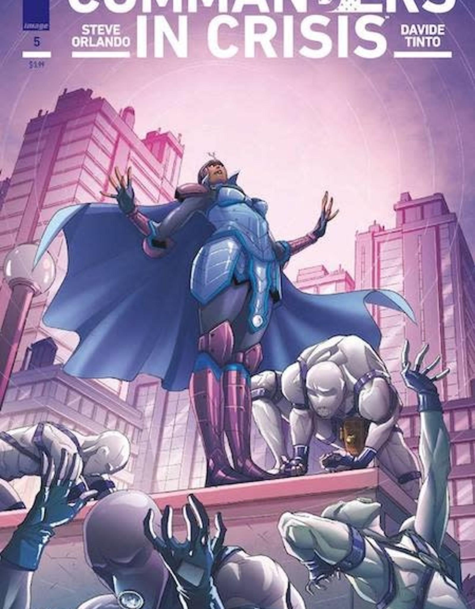 Image Comics Commanders In Crisis #5 Cvr A Tinto