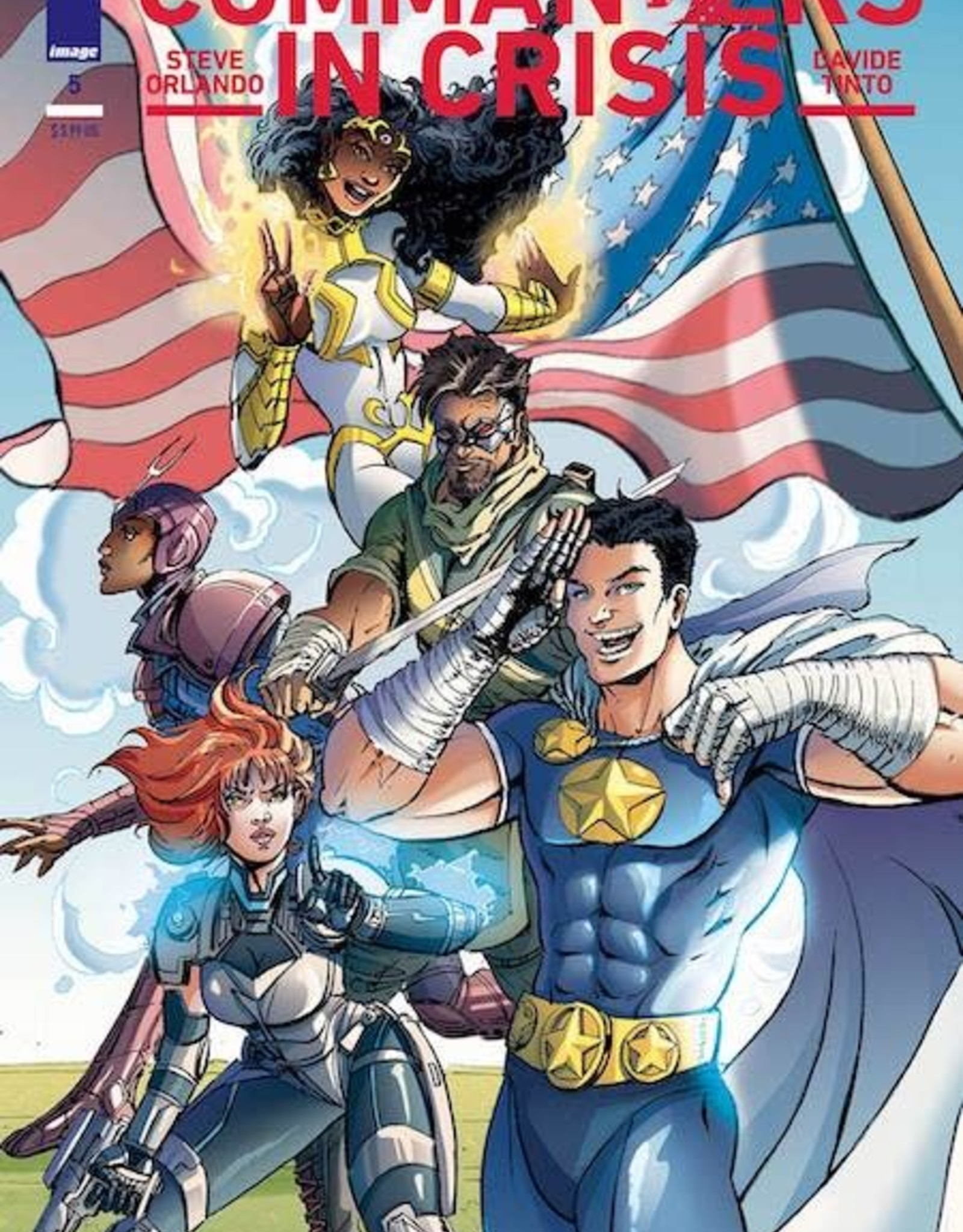 Image Comics Commanders In Crisis #5 Cvr B Chin