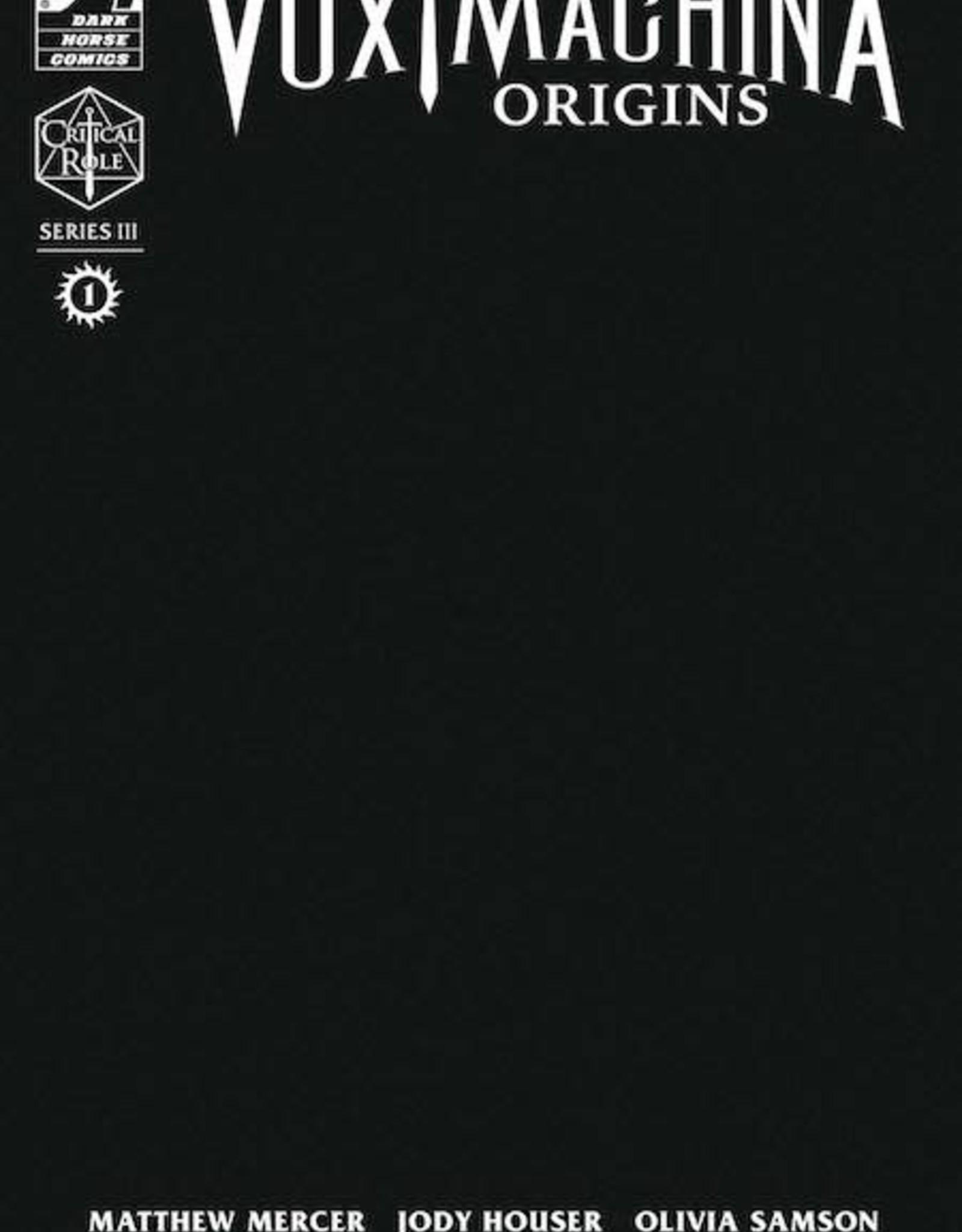 Dark Horse Comics Critical Role Vox Machina Origins III #1