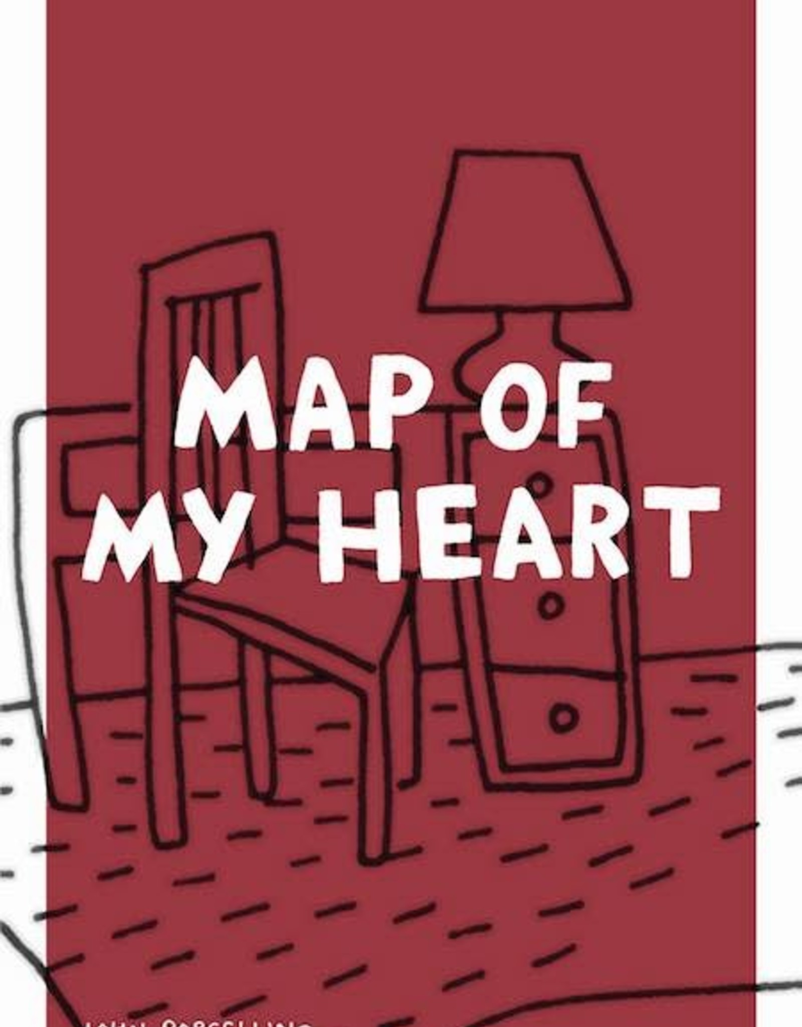 Drawn & Quarterly Map Of My Heart Gn