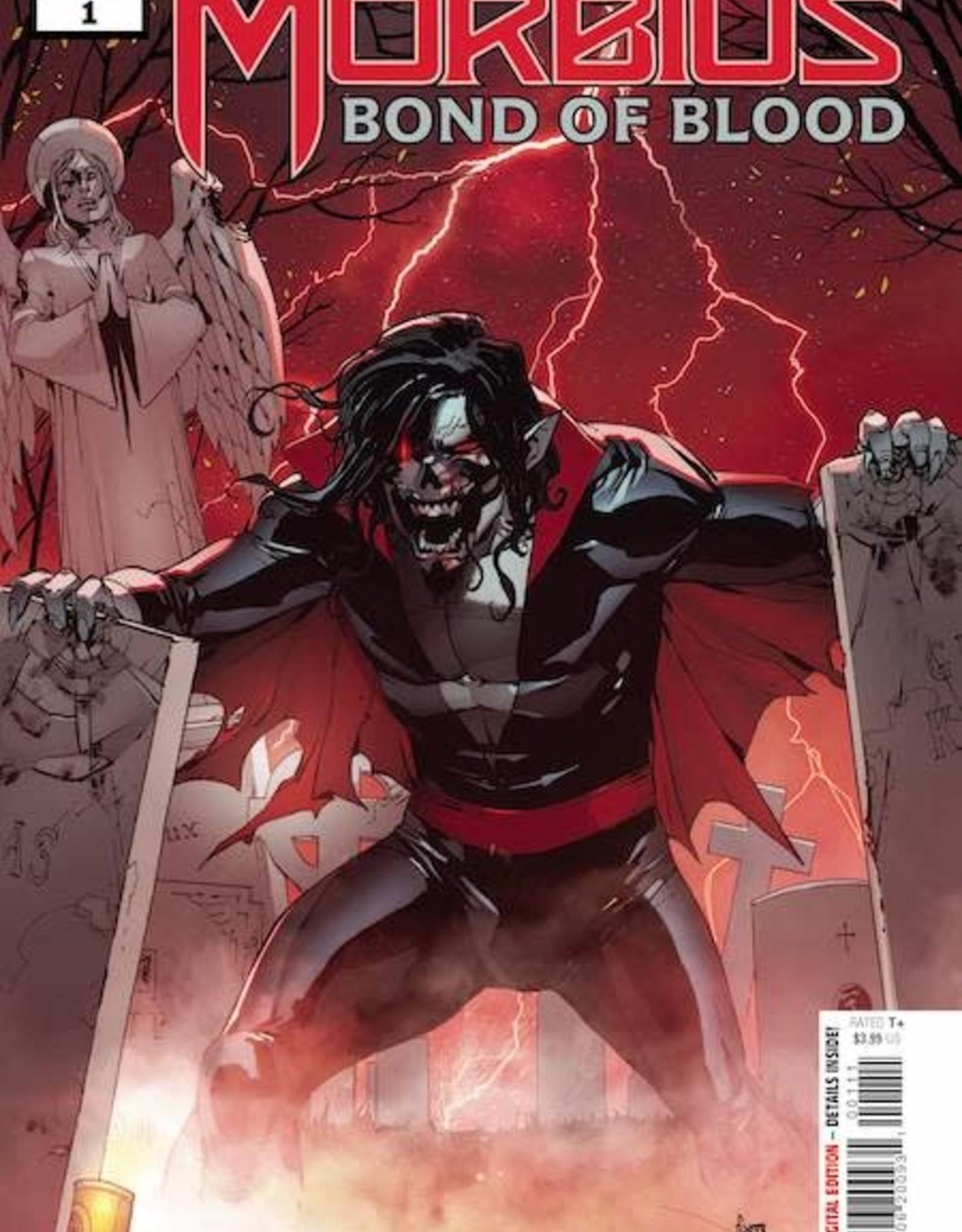 Marvel Comics Morbius Bond Of Blood #1