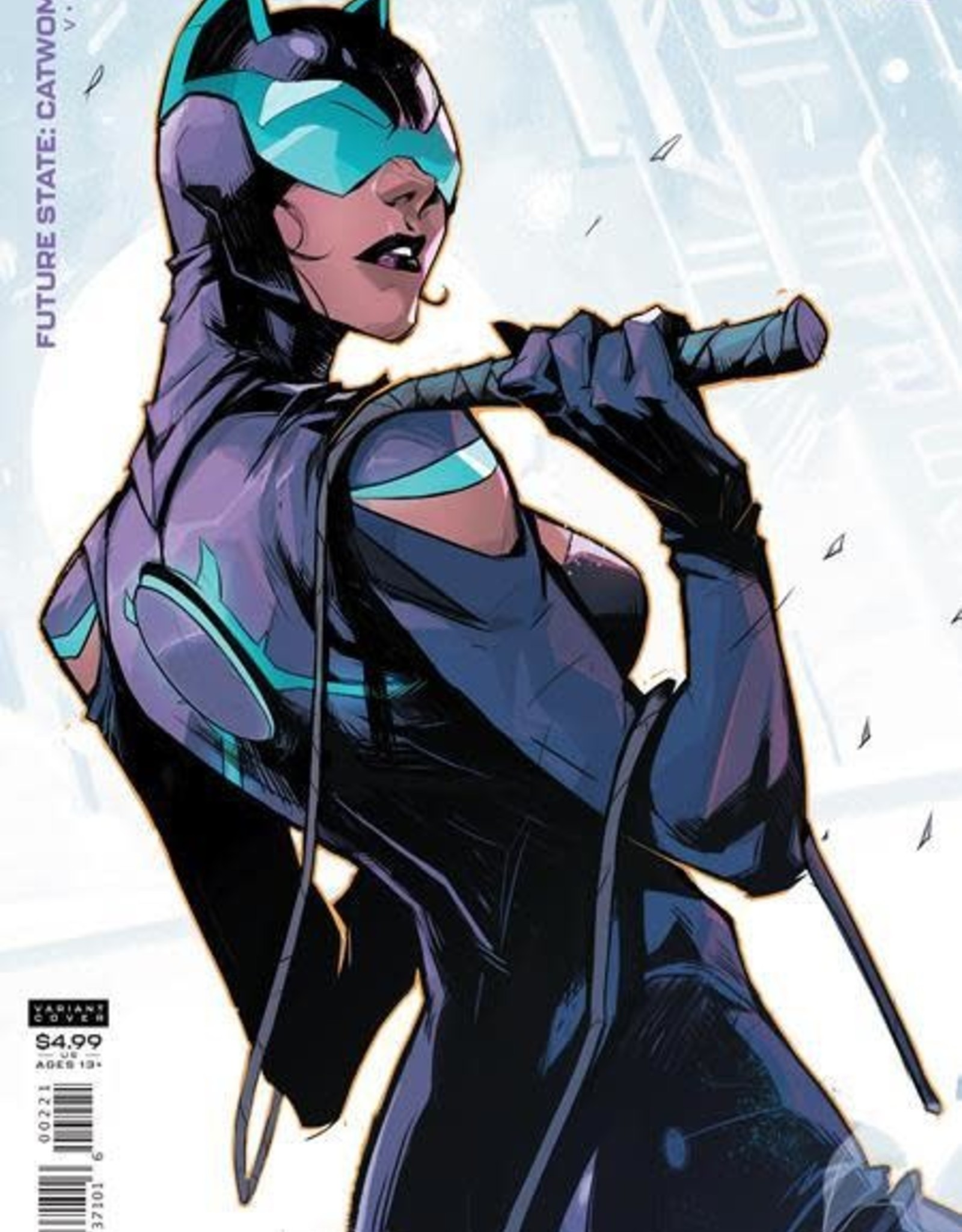 DC Comics Future State Catwoman #2 Cvr B Hicham Habchi Card Stock Var