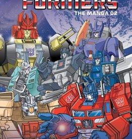 Viz Media Transformers Classic TV Magazine Manga HC Vol 02