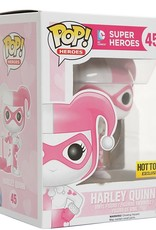 Funko POP Heroes Harley Quinn (Pink & White) Hot Topic Exclusive