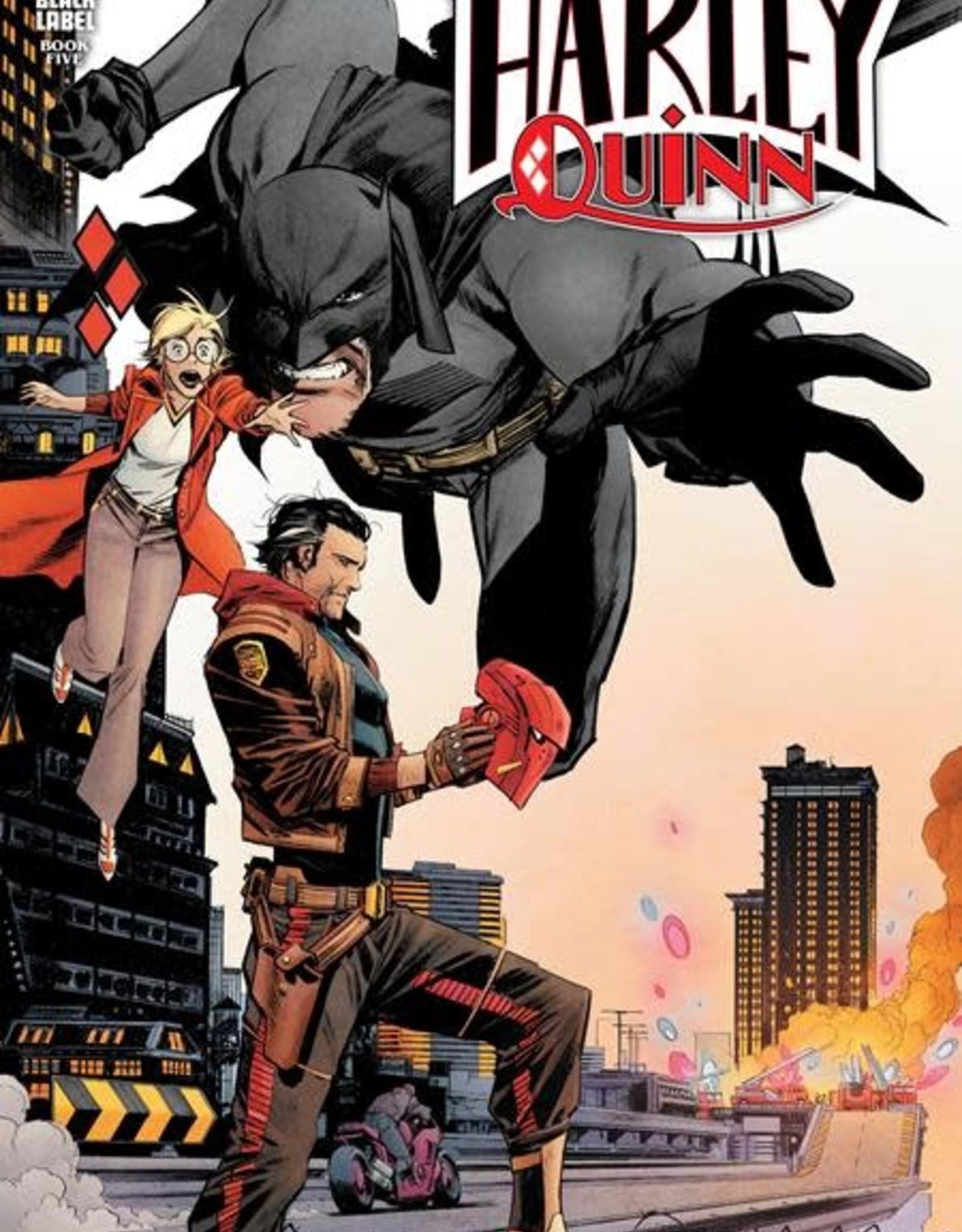 DC Comics Batman White Knight Presents Harley Quinn #5 Cvr A Sean Murphy