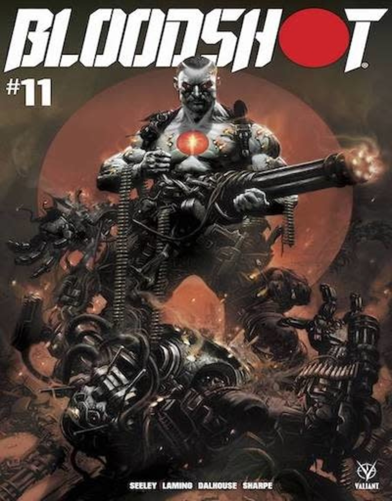 Valiant Entertainment Bloodshot (2019) #11 Cvr B Manco