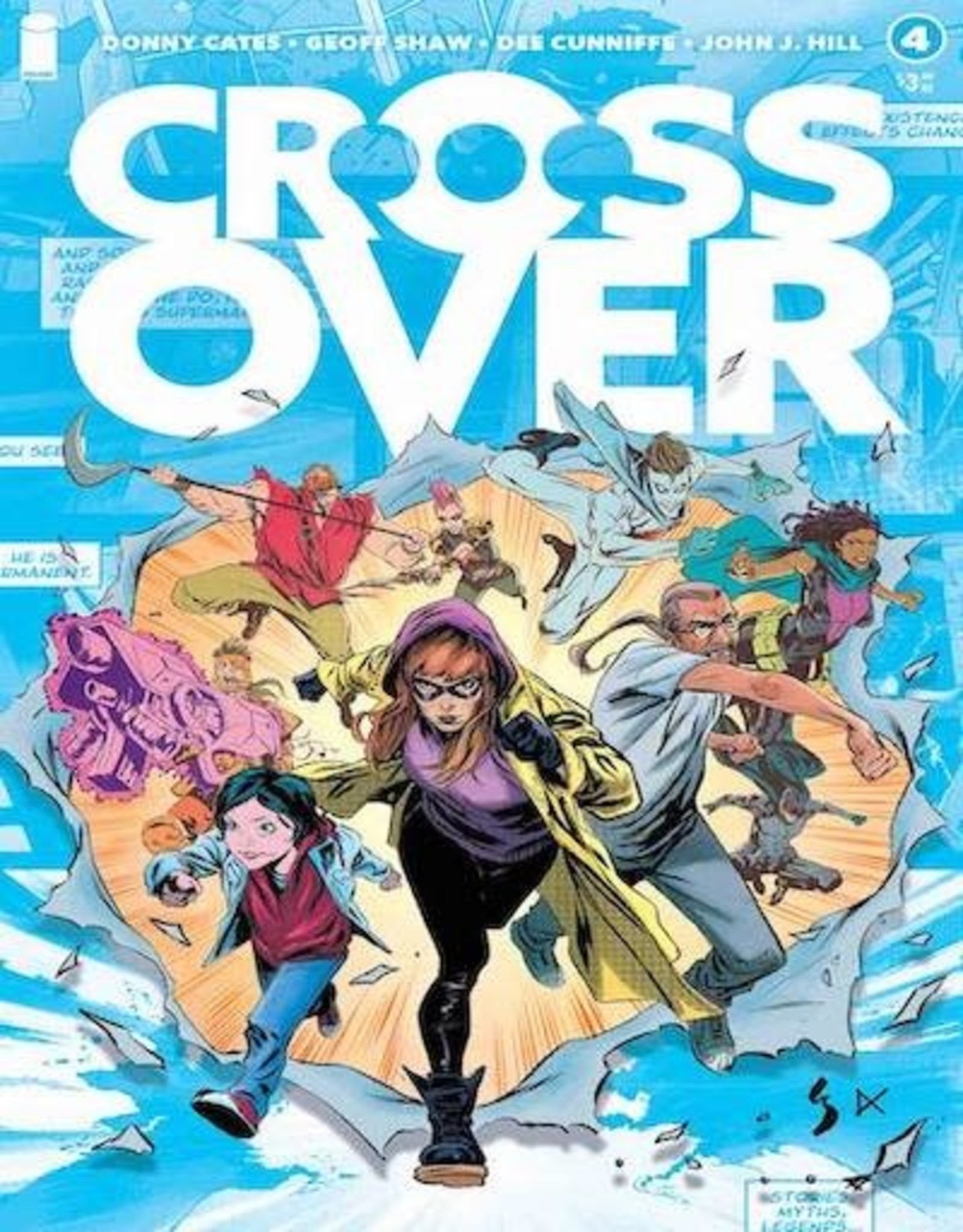 Image Comics Crossover #4 Cvr A Shaw Cunniffe & Hill