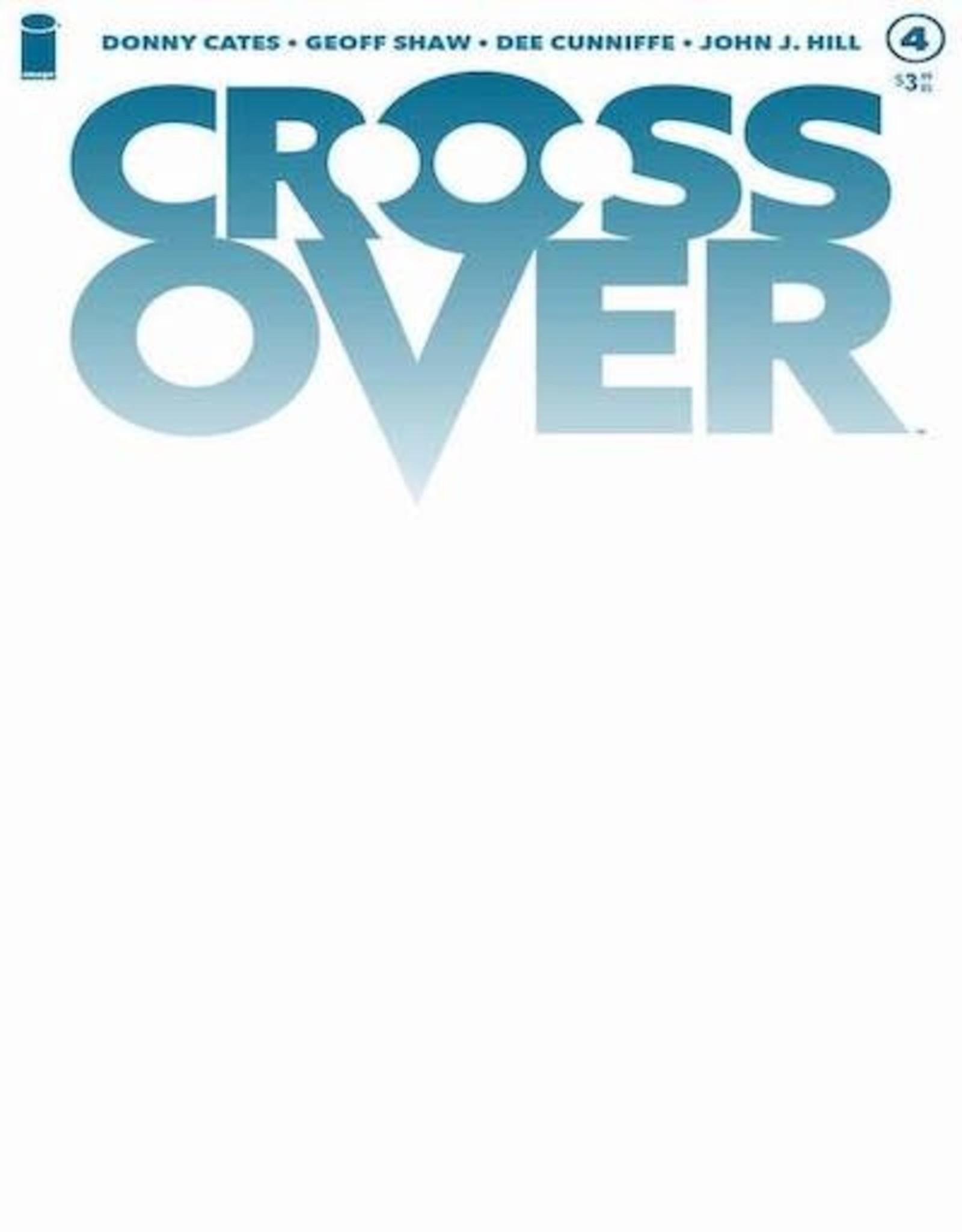 Image Comics Crossover #4 Cvr C Blank Cvr