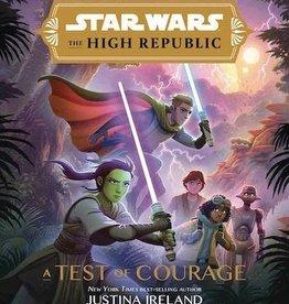 Disney Lucasfilm Press Star Wars High Republic Ya HC Novel Test Of Courage (c: 1-1-