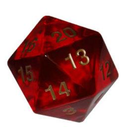 Koplow Games Opaque: 55mm D20 Countdown Trans/Red