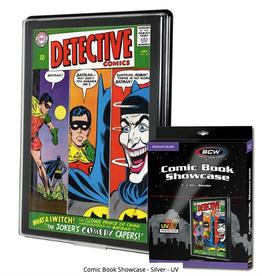BCW Supplies Comic Book Showcase - Silver (UV)