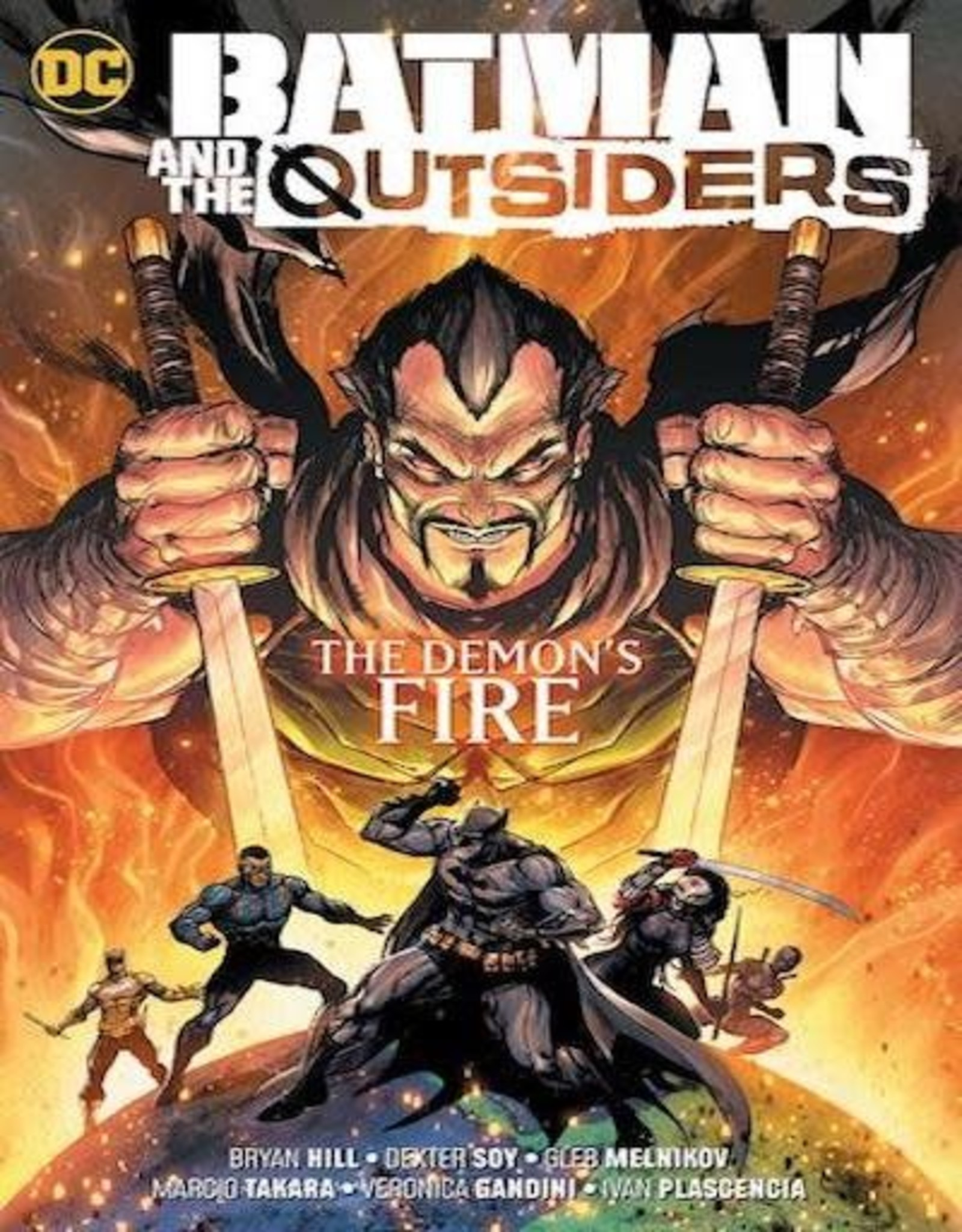 DC Comics Batman & The Outsiders Vol 03 The Demons Fire TP