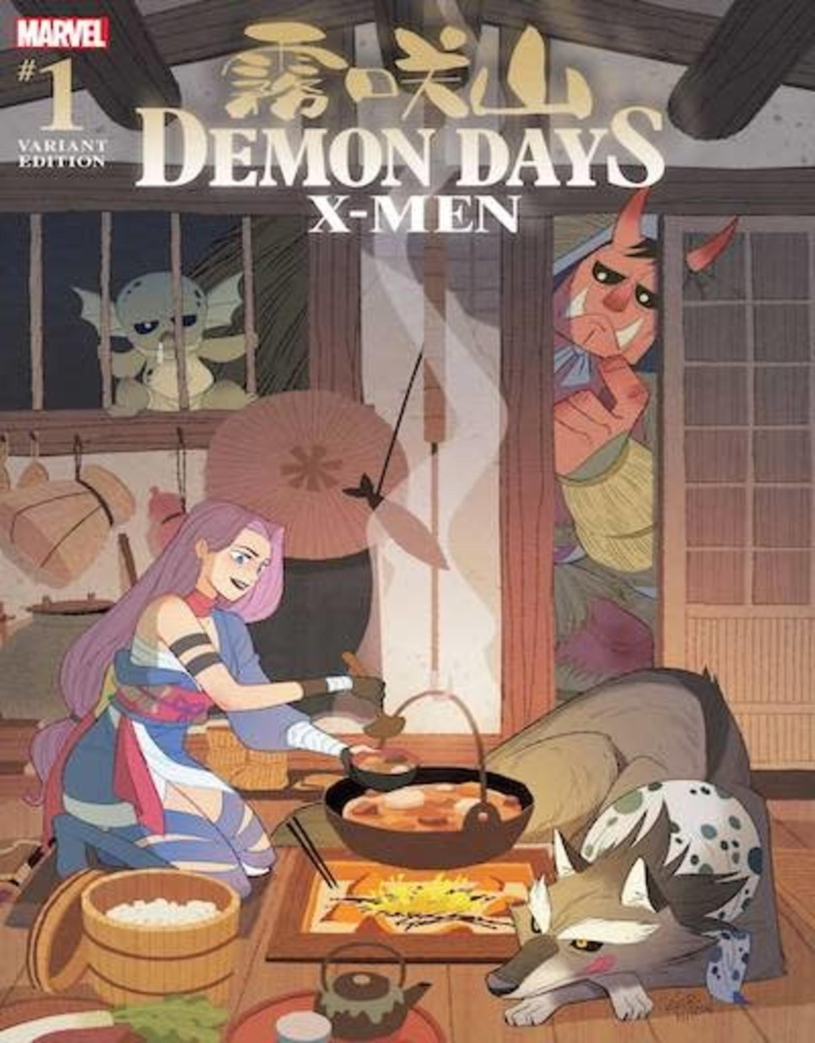 Marvel Comics Demon Days X-Men #1 Gurihiru Var