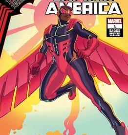 Marvel Comics King In Black Captain America #1 Black History Month Var