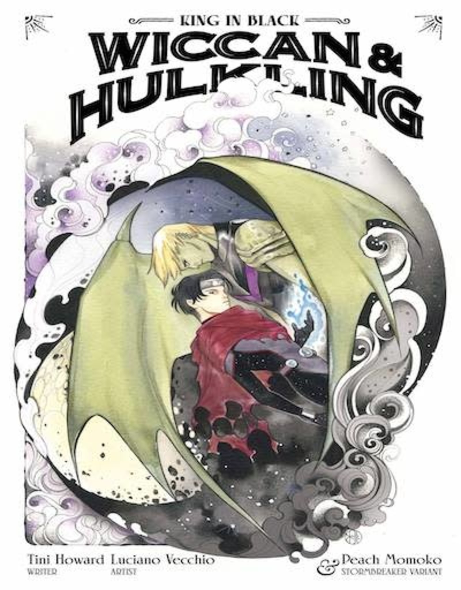 Marvel Comics King In Black Wiccan Hulkling #1 Momoko Stormbreakers Var