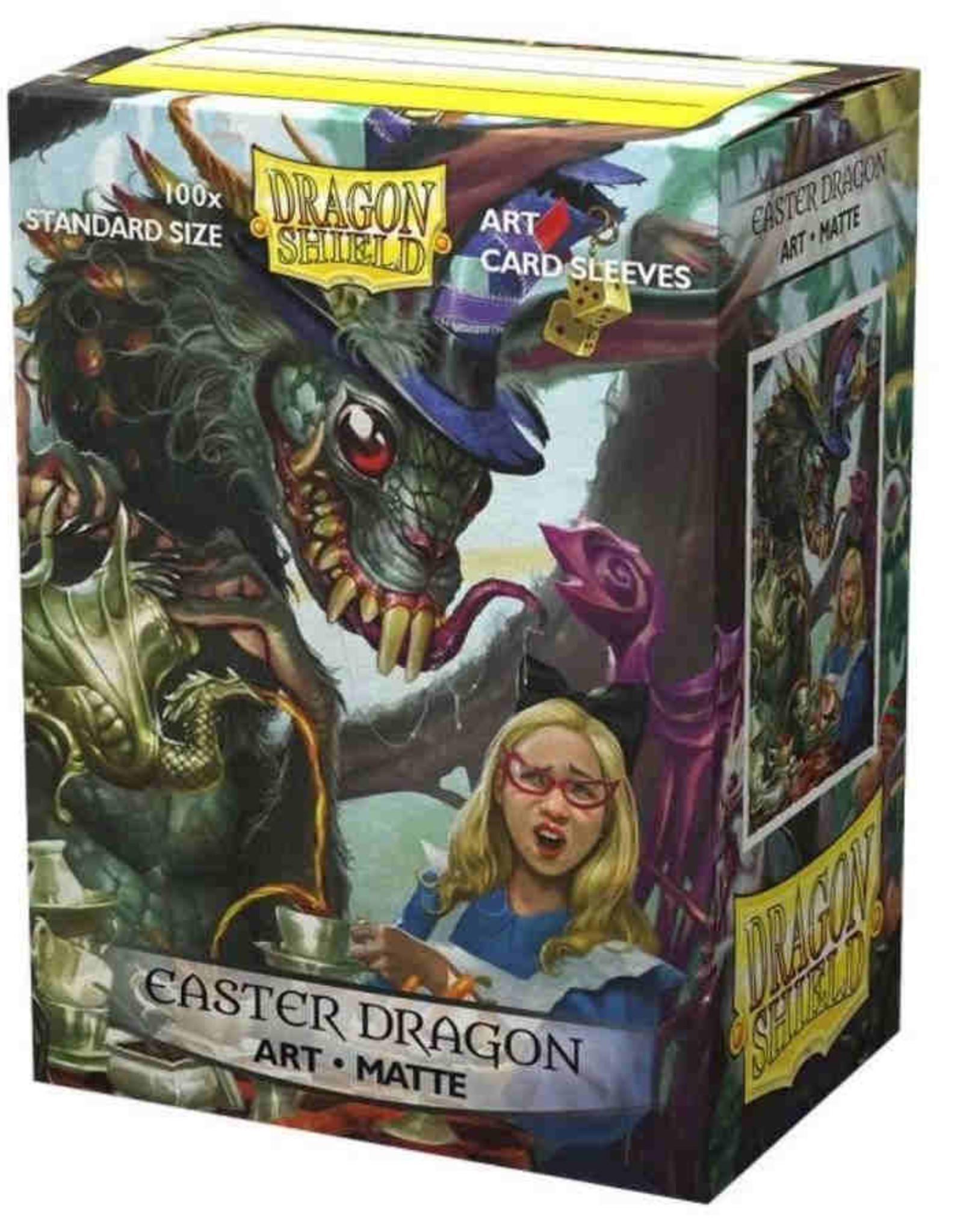 Arcane Tinmen Dragon Shield Sleeves: Matte Art: Easter Dragon 2021 (Box Of 100)