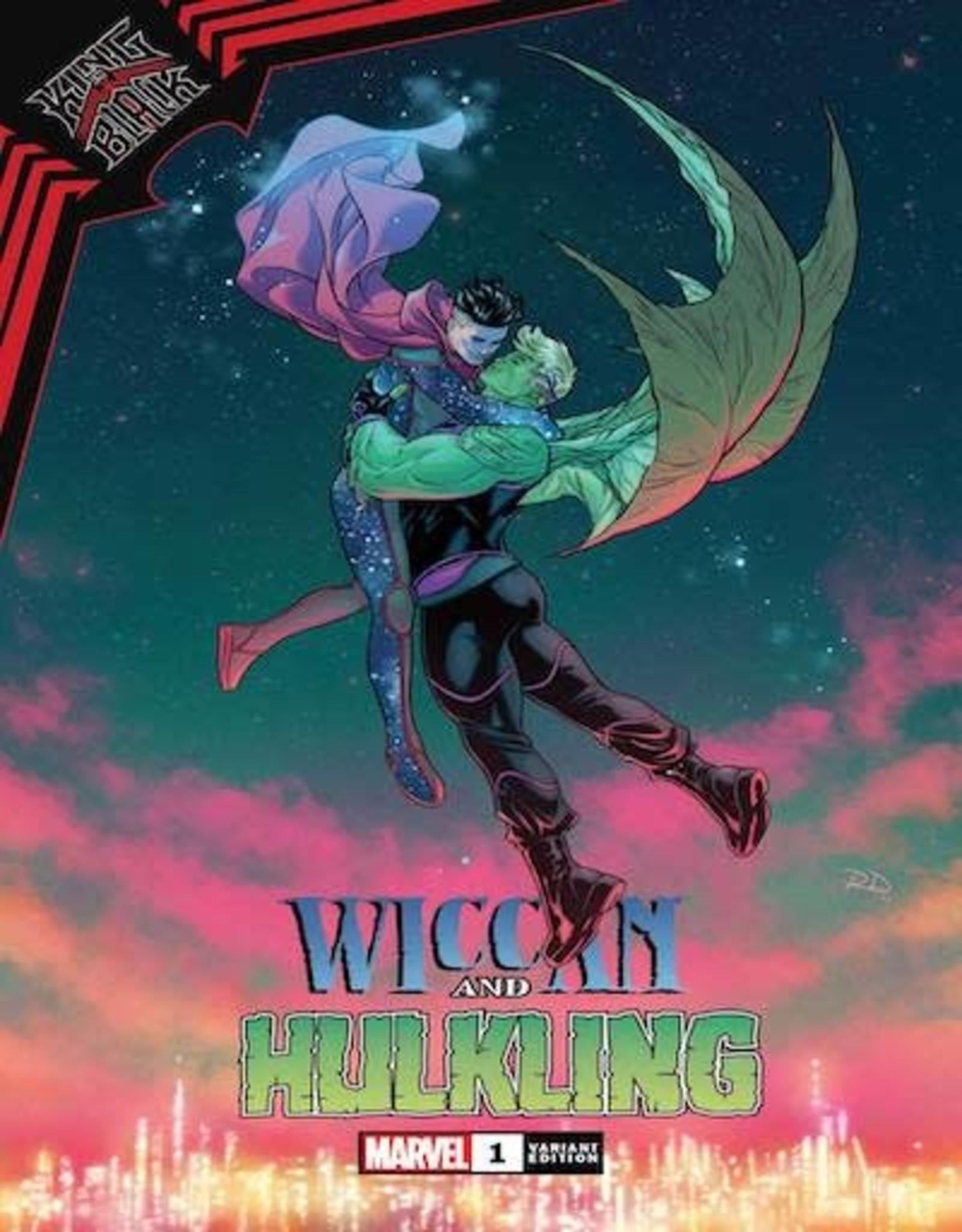 Marvel Comics King In Black Wiccan Hulkling #1 Dauterman Var