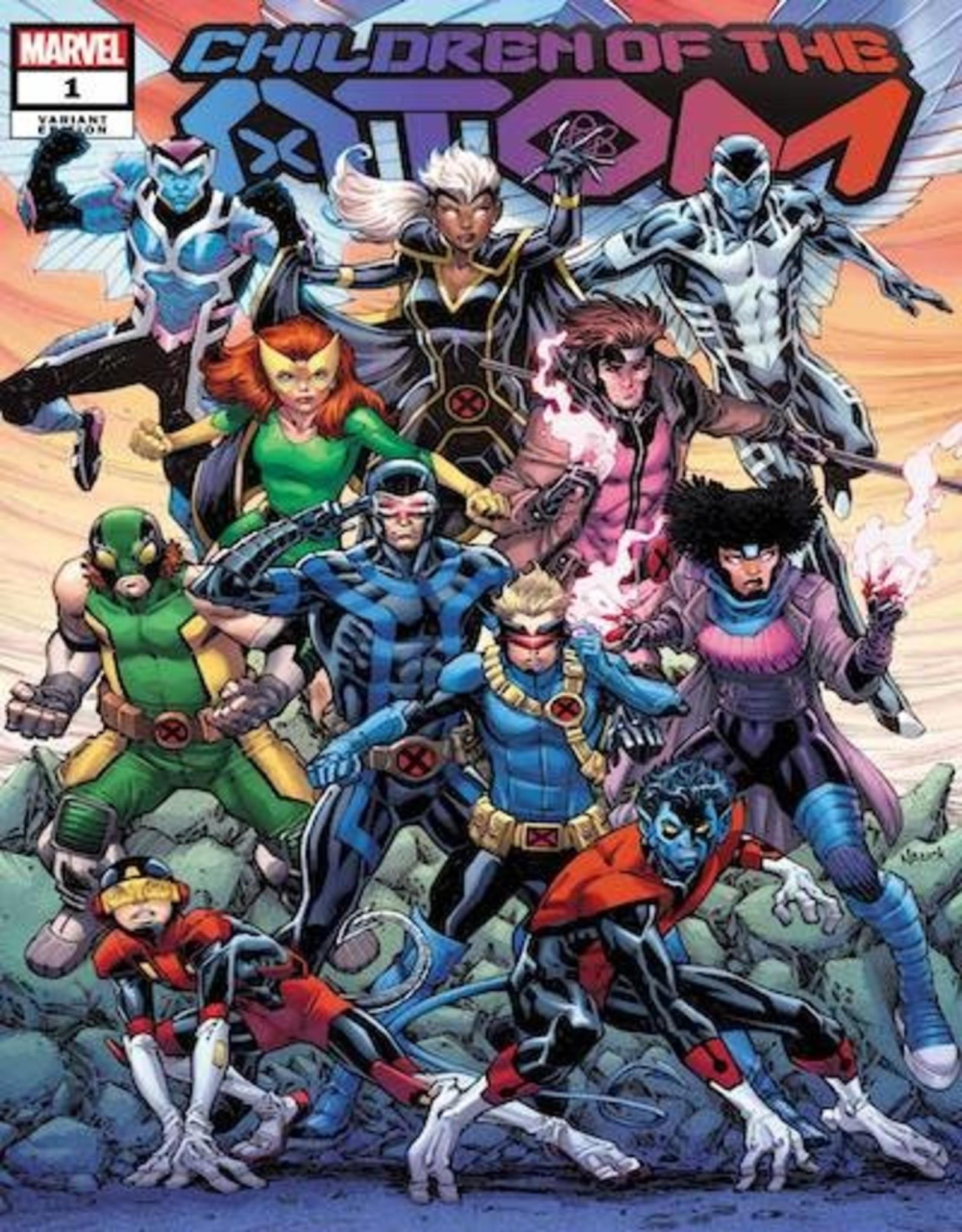 Marvel Comics Children Of Atom #1 Nauck Var