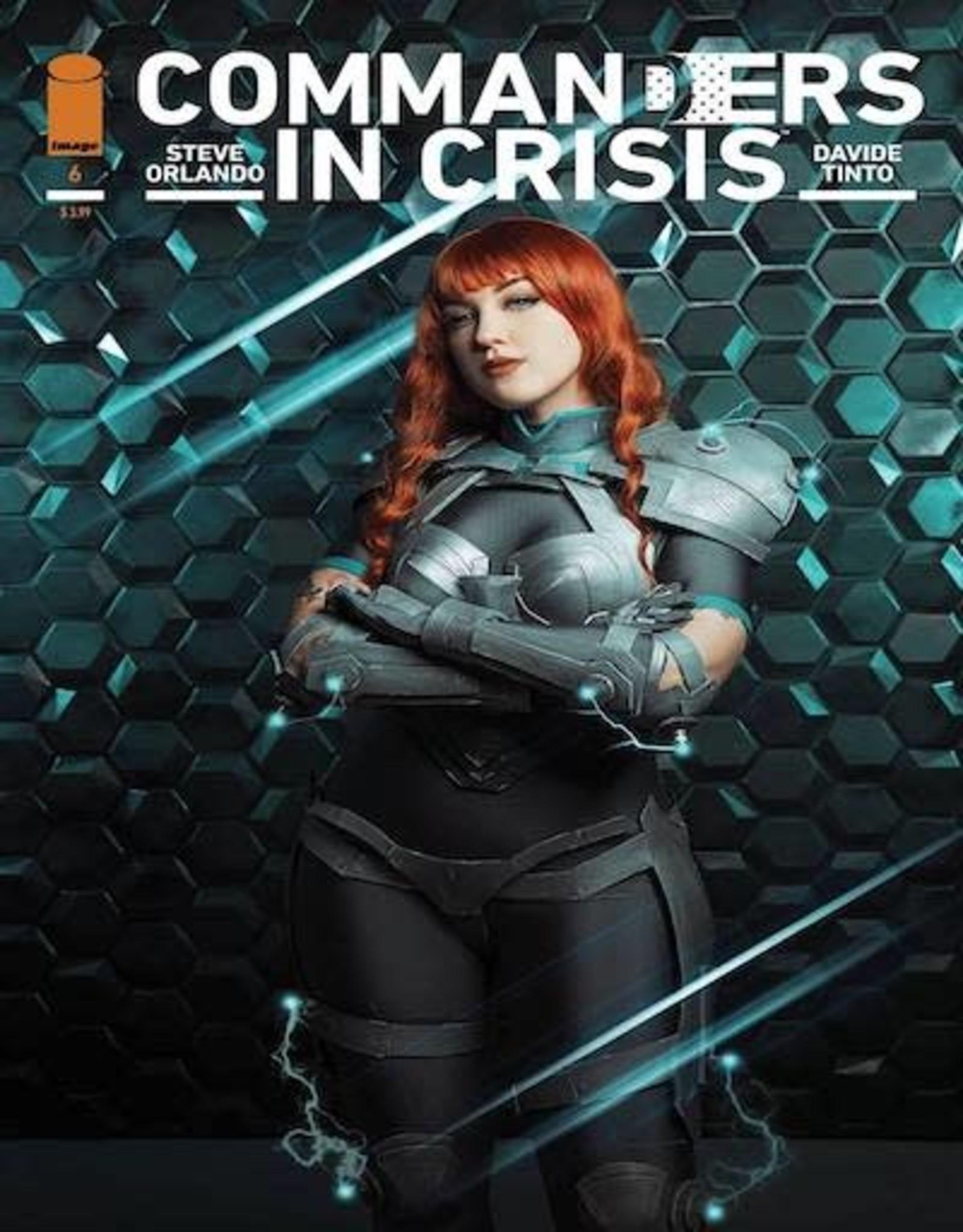 Image Comics Commanders In Crisis #6 Cvr C Cosplay Photo Cvr
