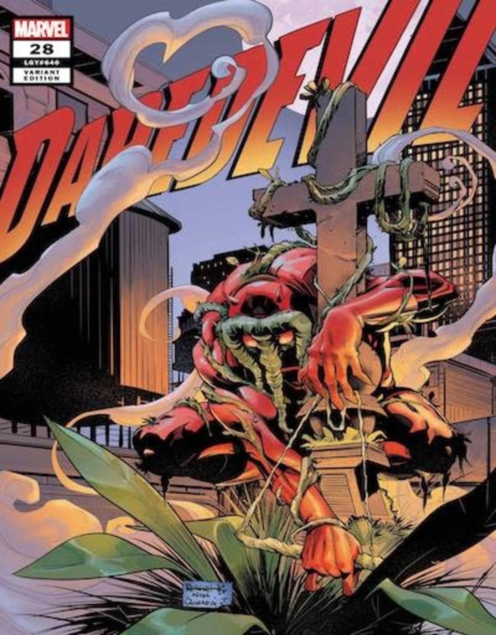 Marvel Comics Daredevil #28 Height Daredevil-Thing Var