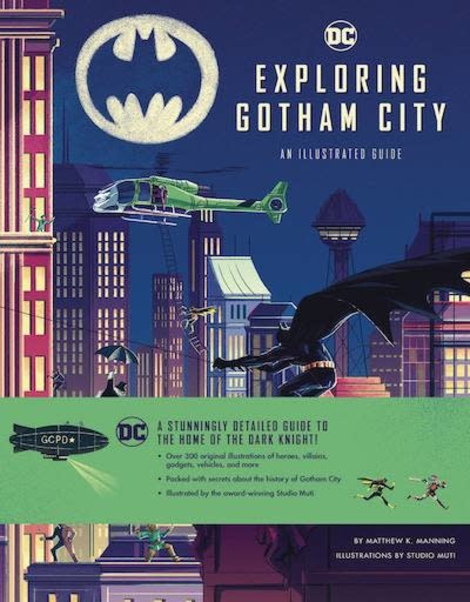 Insight Kids DC Comics Exploring Gotham City