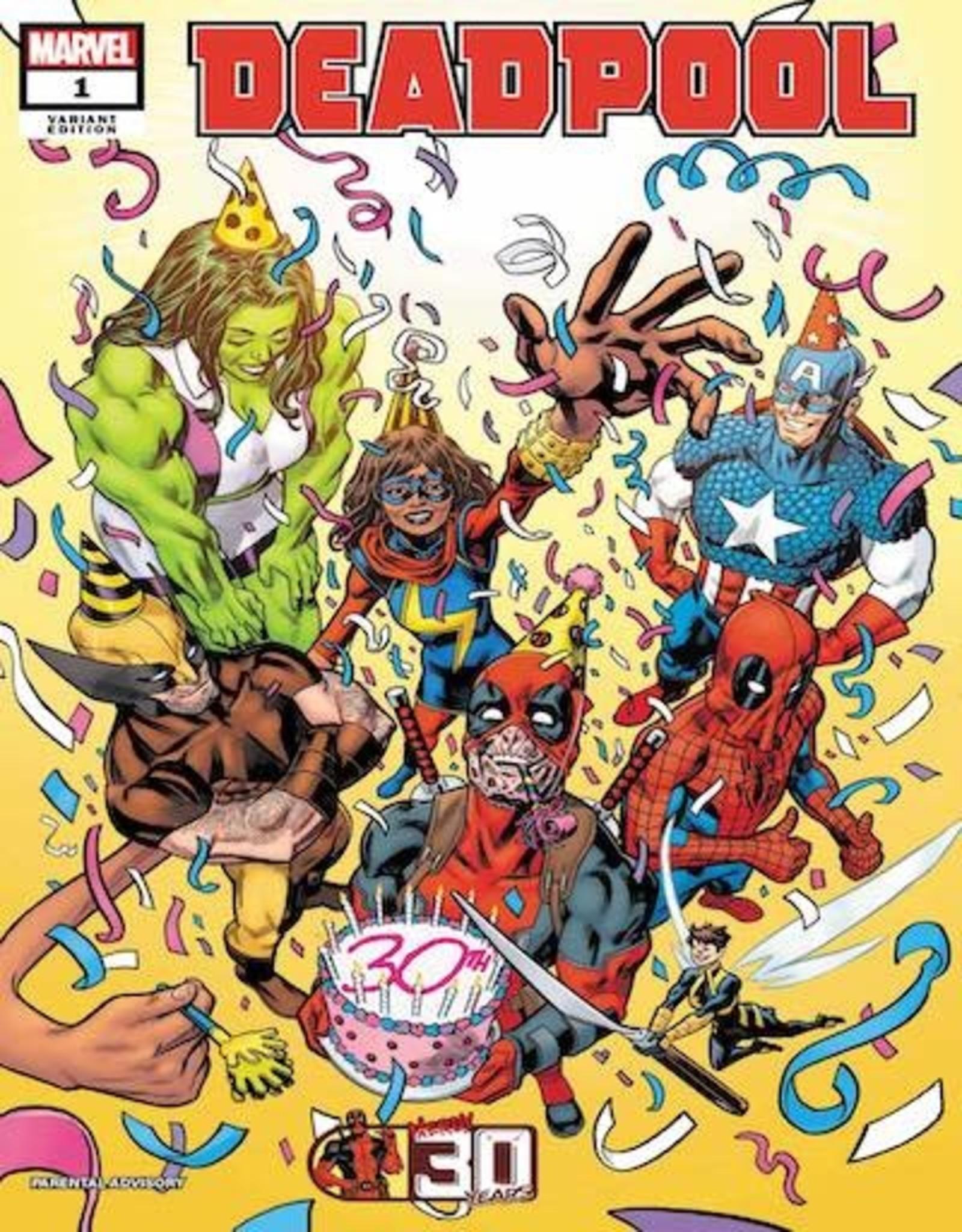 Marvel Comics Deadpool Nerdy 30 #1 Hawthorne Var