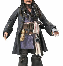 Diamond Select Toys Pirates Of The Caribbean Jack Sparrow Figure