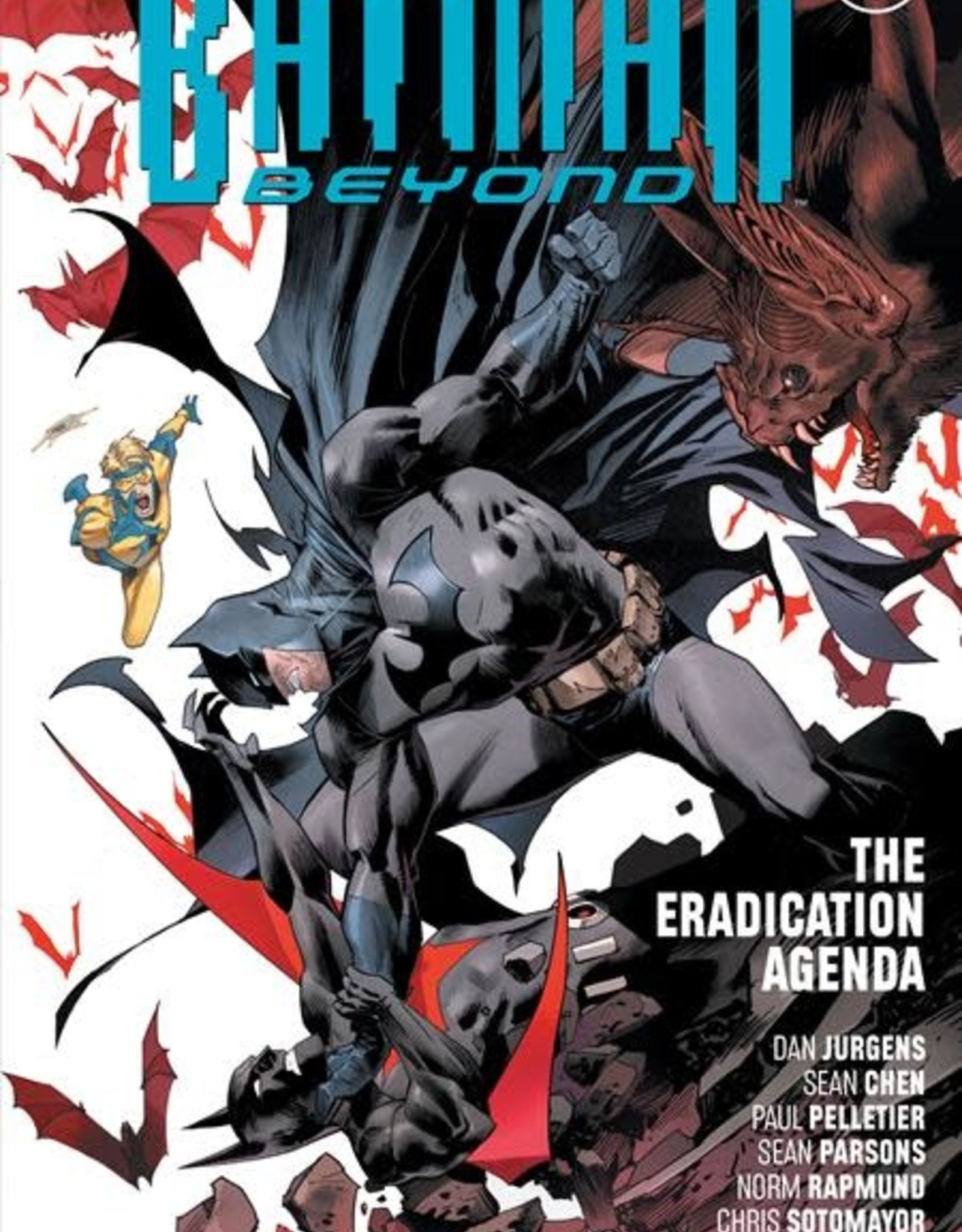 DC Comics Batman Beyond Vol 08 The Eradication Agenda TP