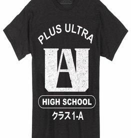 Great Eastern Entertainment My Hero Academia Plus Ultra Blk T/s Lg