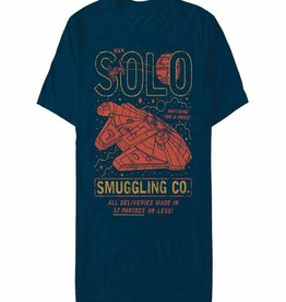 Fifth Sun Star Wars Solo Smuggling Co T/S Med
