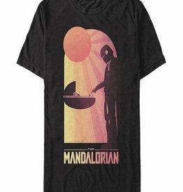 Fifth Sun Star Wars The Mandalorian A Warm Meeting T/s S