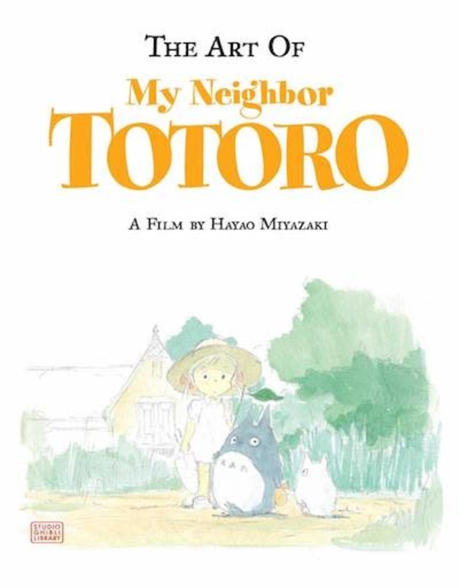 Viz Media Art Of My Neighbor Totoro HC