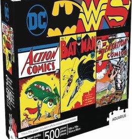 NMR Aquarius DC Comics 500pc 3 In 1 Puzzle