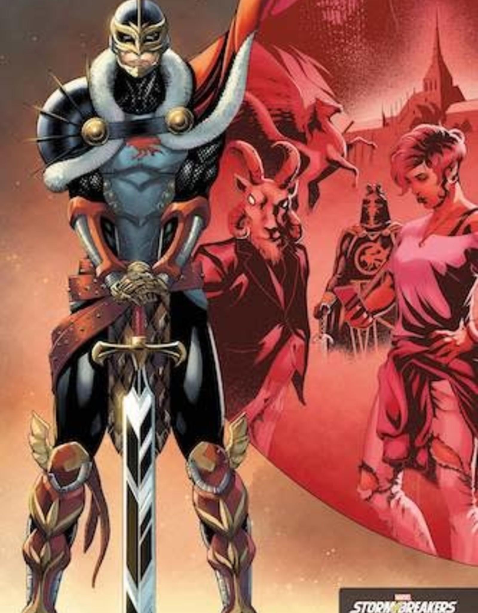 Marvel Comics Black Knight Curse Ebony Blade #1 Cabal Stormbreakers