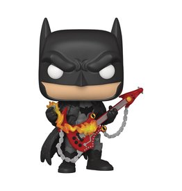 Funko Pop DC Heroes Death Metal Batman w/Guitar Px