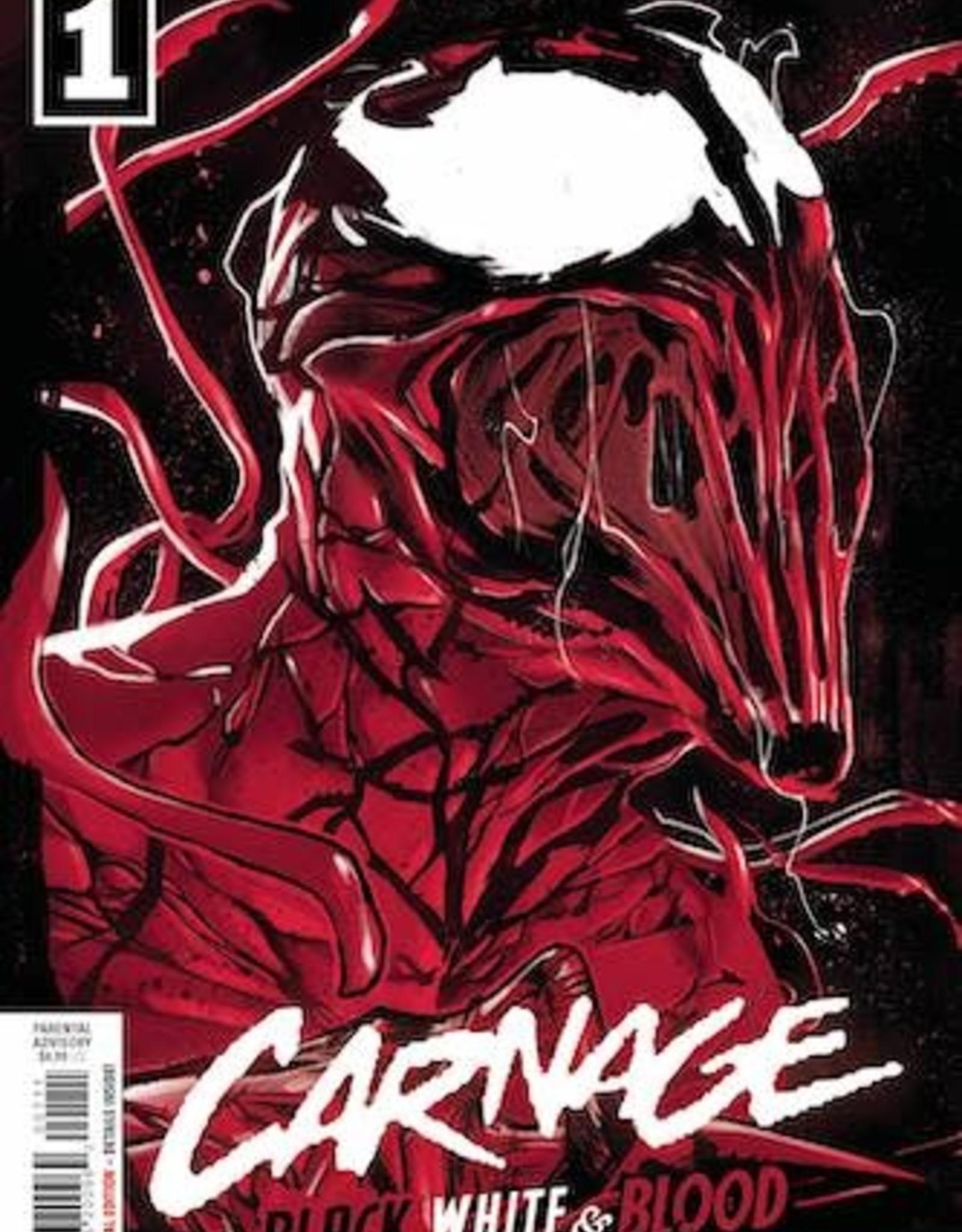 Marvel Comics Carnage Black White And Blood #1