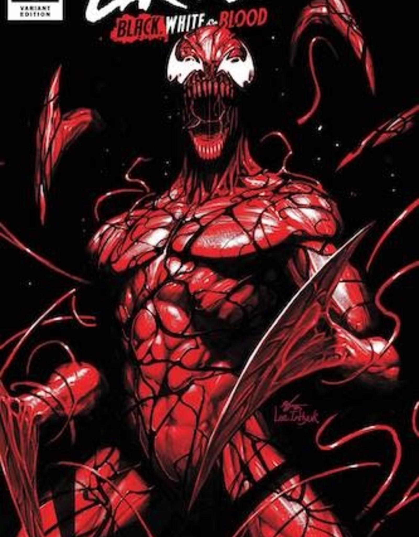 Marvel Comics Carnage Black White And Blood #1 Inhyuk Lee Var