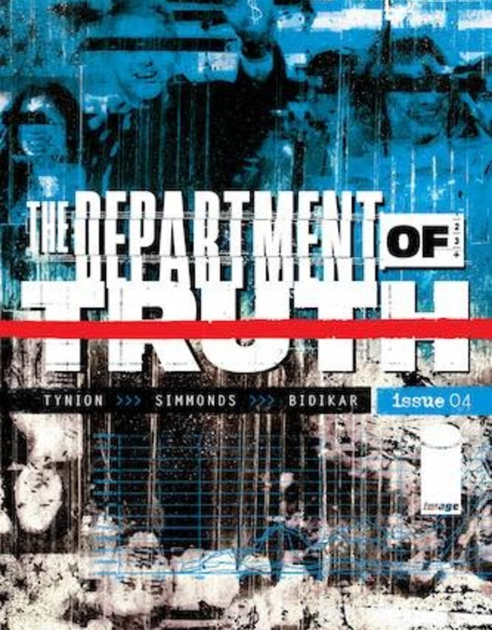 Image Comics Department Of Truth #4 2nd Ptg