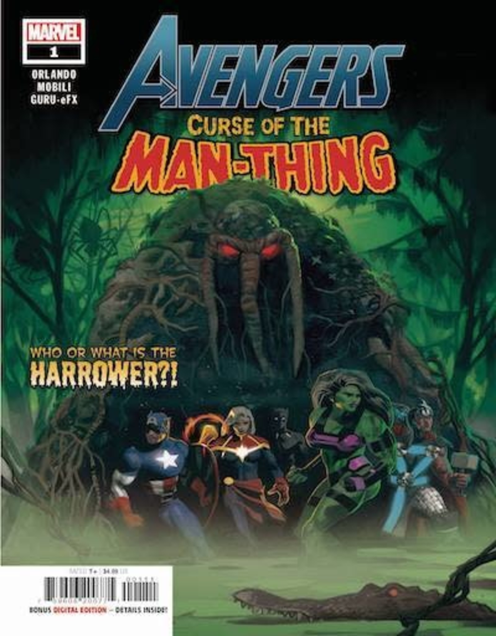 Marvel Comics Avengers Curse Man-Thing #1