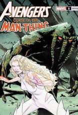 Marvel Comics Avengers Curse Man-Thing #1 Sprouse Var