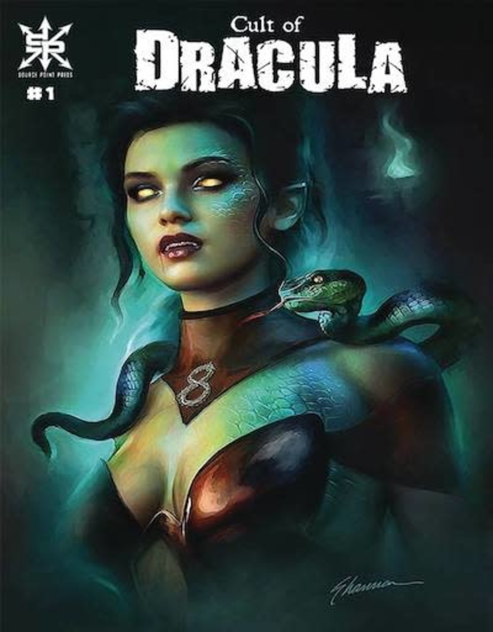 Source Point Press Cult Of Dracula #1 Cvr B Maer