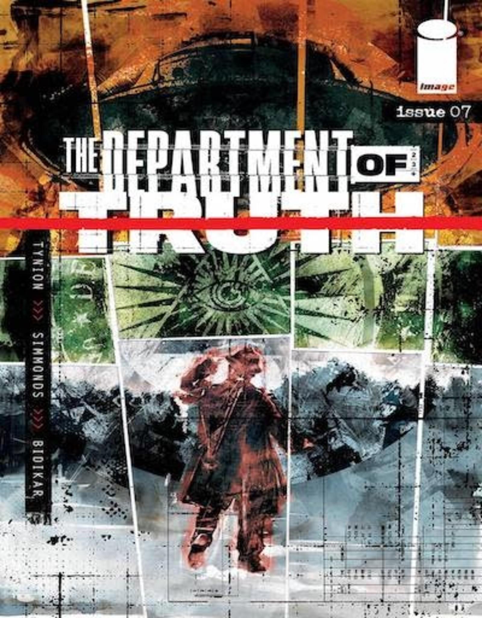 Image Comics Department Of Truth #7 Cvr A Simmonds