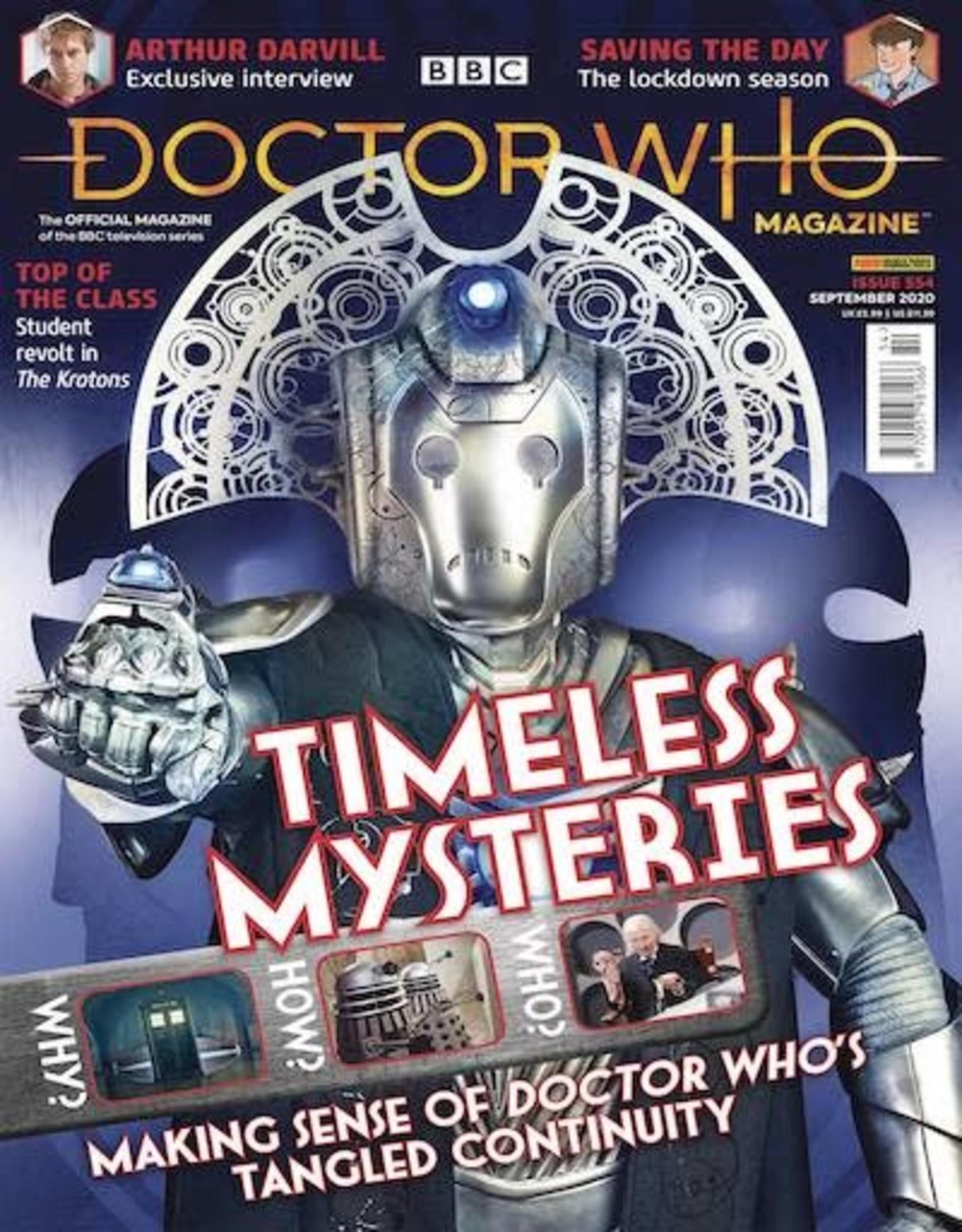 Panini Publishing Doctor Who Magazine #557